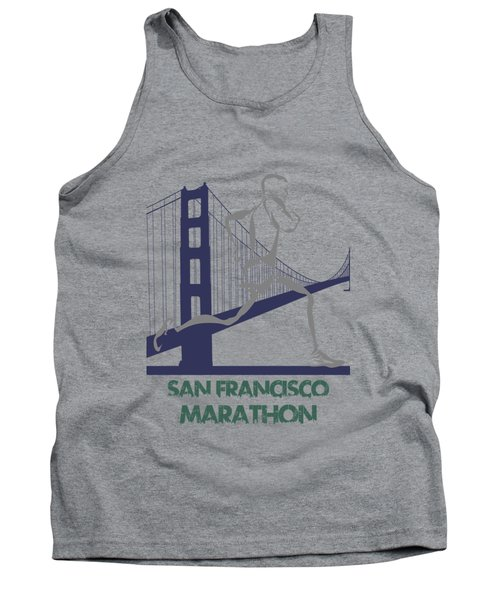 San Francisco Marathon2 Tank Top by Joe Hamilton