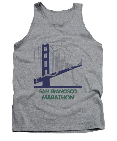 San Francisco Marathon2 Tank Top by Joe Hamilton