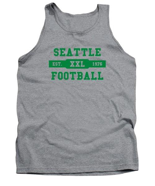 Seahawks Retro Shirt Tank Top by Joe Hamilton