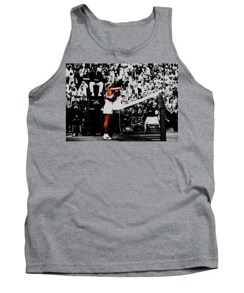 Serena Williams And Angelique Kerber Tank Top by Brian Reaves