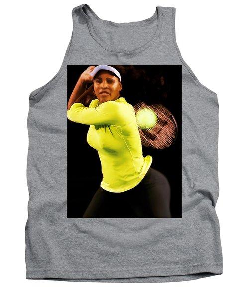 Serena Williams Bamm Tank Top by Brian Reaves