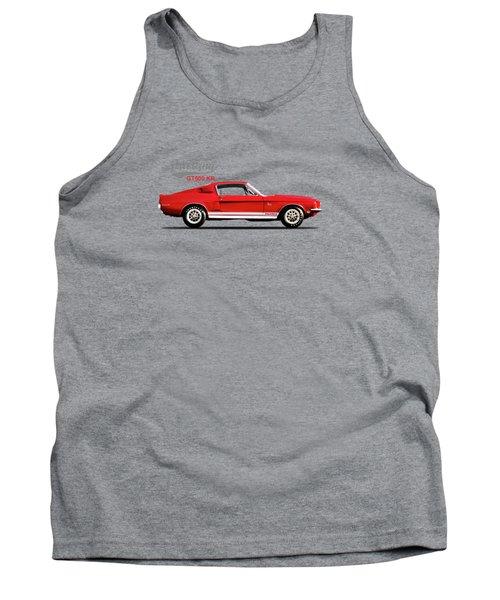 Shelby Mustang Gt500 Kr 1968 Tank Top by Mark Rogan