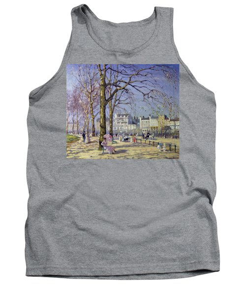 Spring In Hyde Park Tank Top by Alice Taite Fanner
