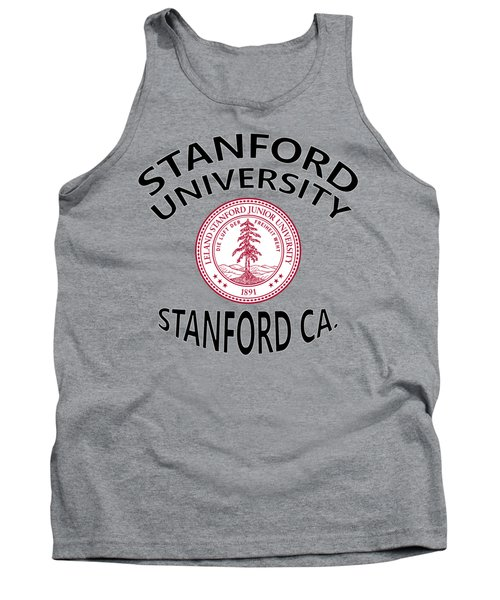 Stanford University Stanford California  Tank Top by Movie Poster Prints