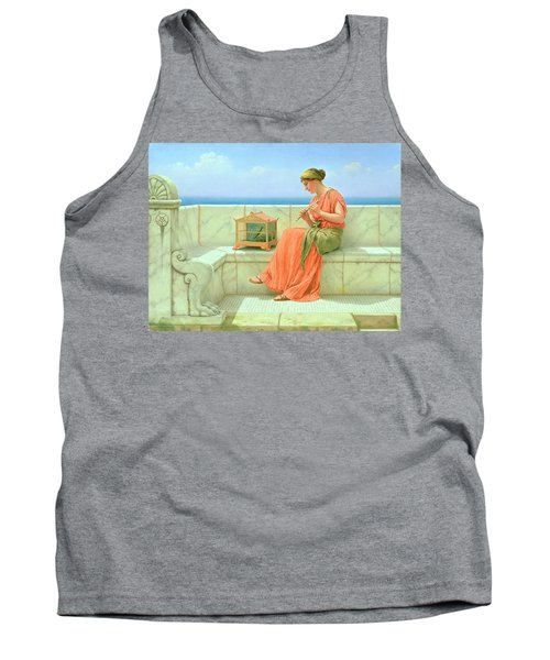Sweet Sounds Tank Top by John William Godward