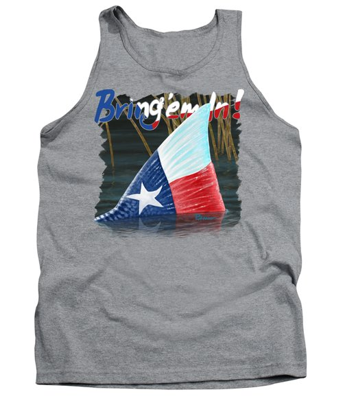 Texas Tails Tank Top by Kevin Putman