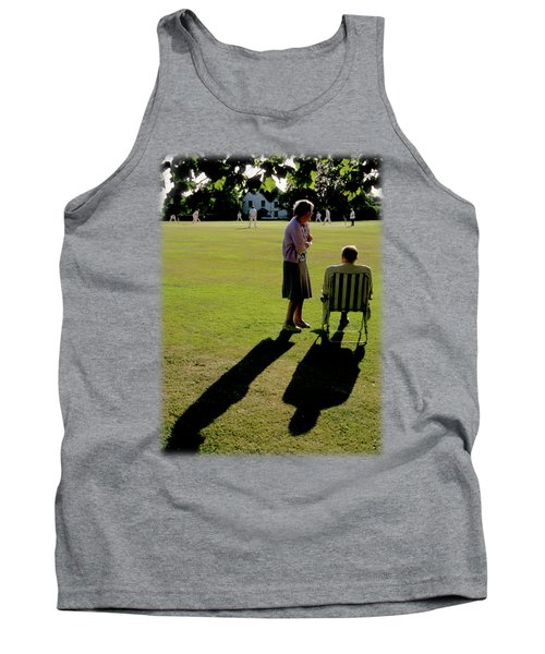 The Cricket Match Tank Top by Jon Delorme
