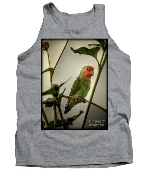 The Lovebird  Tank Top by Saija  Lehtonen