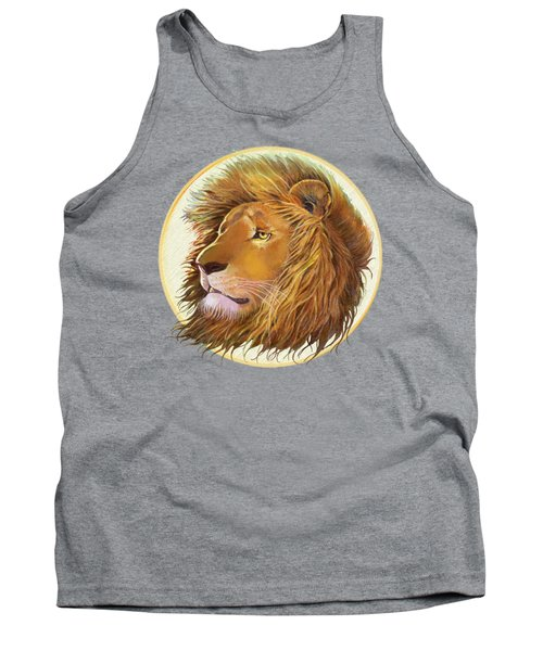 The One True King - Color Tank Top by J L Meadows