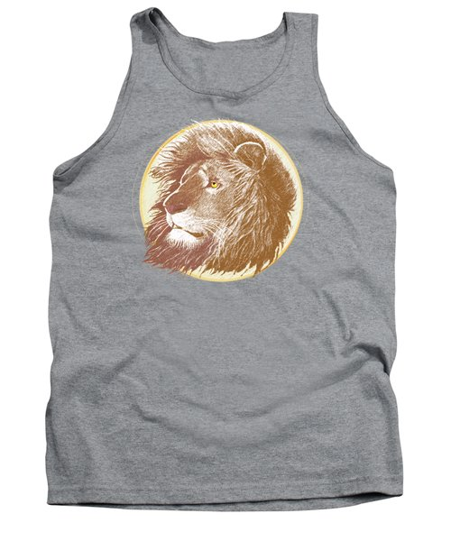 The One True King Tank Top by J L Meadows