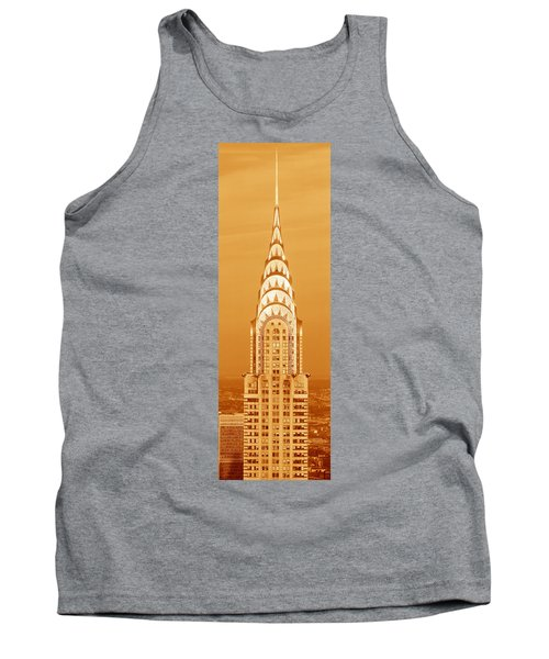 This Is A Sepiatone Close Tank Top by Panoramic Images