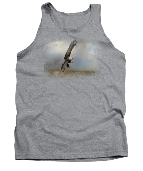 Up Against The Storm Tank Top by Jai Johnson