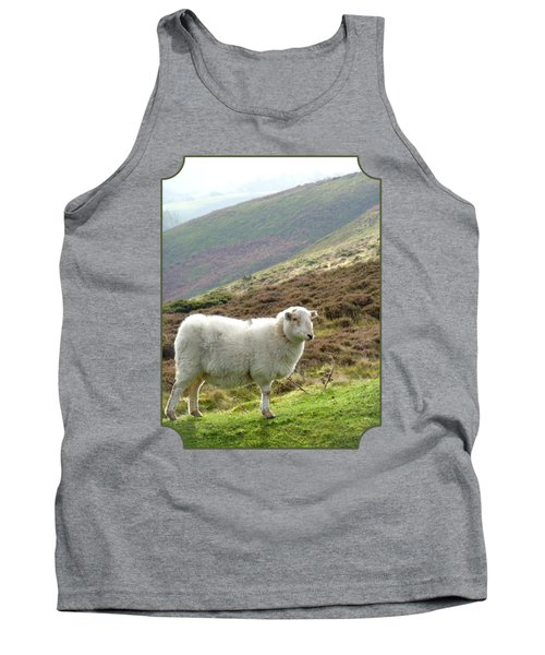 Welsh Mountain Sheep Tank Top by Gill Billington
