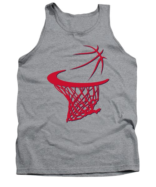 Wizards Basketball Hoop Tank Top by Joe Hamilton