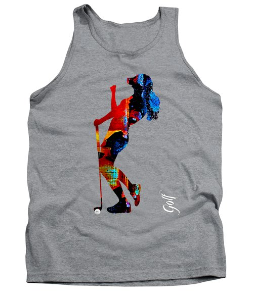 Womens Golf Collection Tank Top by Marvin Blaine