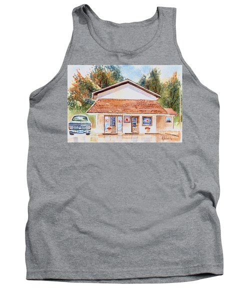 Woodcock Insurance In Watercolor  W406 Tank Top by Kip DeVore