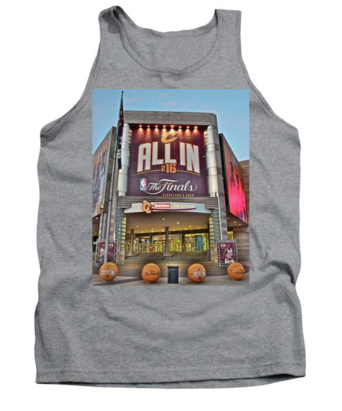 World Champion Cleveland Cavaliers Tank Top by Frozen in Time Fine Art Photography