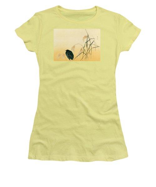 Blackbird Women's T-Shirt (Junior Cut) by Japanese School