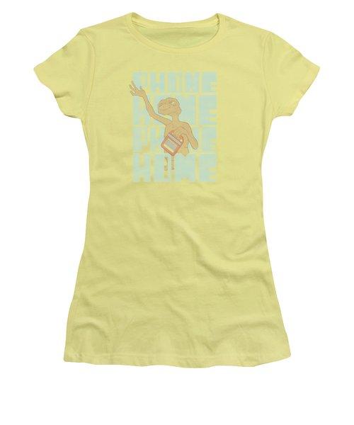 Et - Dropped Calls Women's T-Shirt (Junior Cut) by Brand A