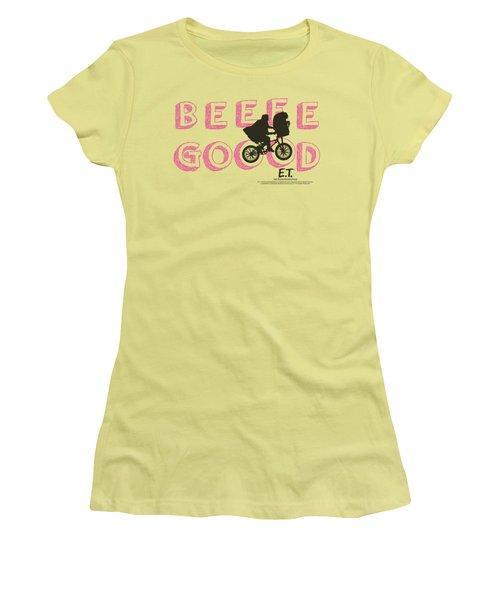 Et - Goood Women's T-Shirt (Junior Cut) by Brand A