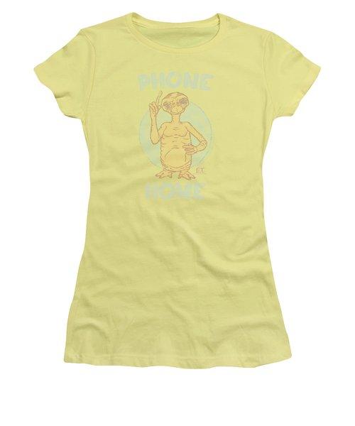 Et - Phone Women's T-Shirt (Junior Cut) by Brand A