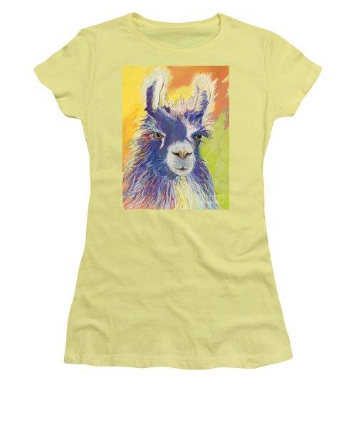 King Charles Women's T-Shirt (Junior Cut) by Pat Saunders-White