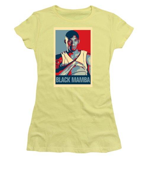 Kobe Bryant Women's T-Shirt (Junior Cut) by Taylan Soyturk