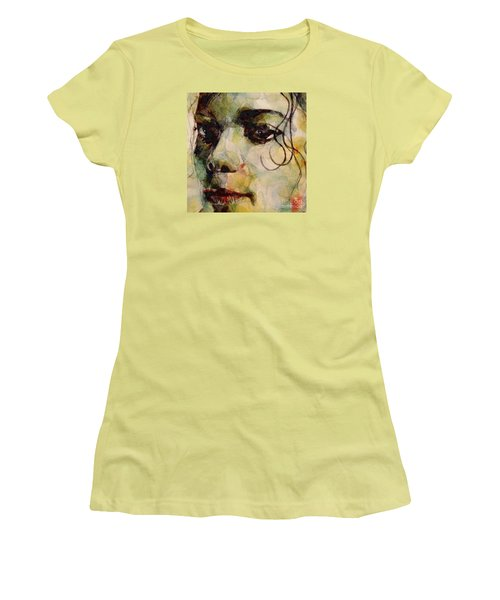 Man In The Mirror Women's T-Shirt (Junior Cut) by Paul Lovering
