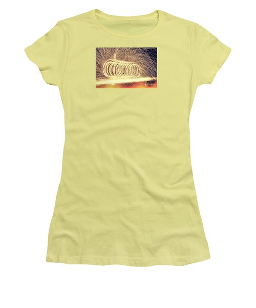 Sparks Women's T-Shirt (Junior Cut) by Dan Sproul