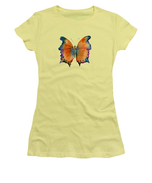 1 Wizard Butterfly Women's T-Shirt (Junior Cut) by Amy Kirkpatrick