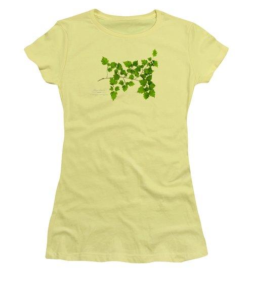 Hawthorn Women's T-Shirt (Junior Cut) by Christina Rollo