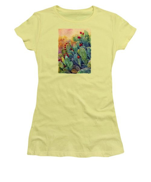 Desert Gems 2 Women's T-Shirt (Junior Cut) by Hailey E Herrera