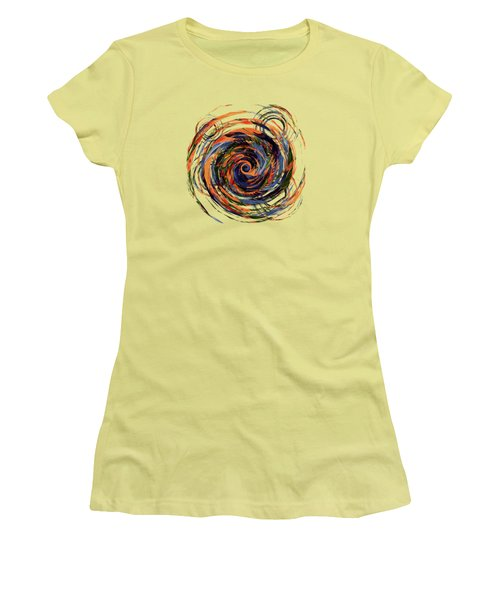 Gravity In Color Women's T-Shirt (Junior Cut) by Deborah Smith