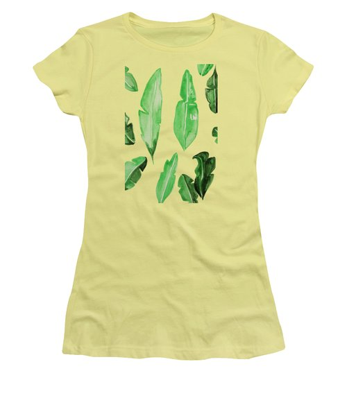 Leaves Women's T-Shirt (Junior Cut) by Cortney Herron