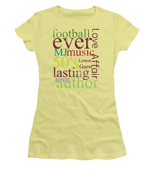 Lynton Guest Women's T-Shirt (Junior Cut) by D Francis