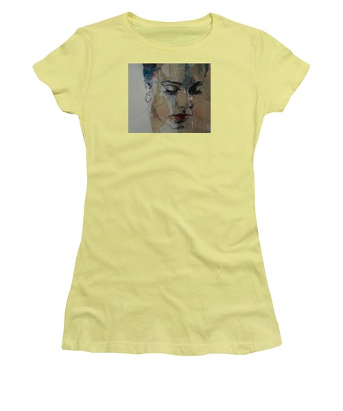 Make You Feel My Love Women's T-Shirt (Junior Cut) by Paul Lovering