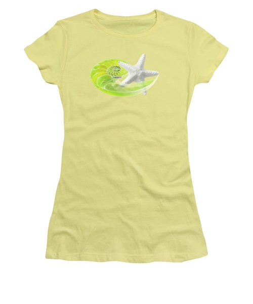 Ocean Fresh Women's T-Shirt (Junior Cut) by Gill Billington