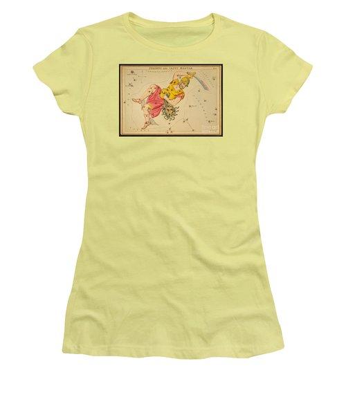 Perseus And Caput Medusae Women's T-Shirt (Junior Cut) by Science Source