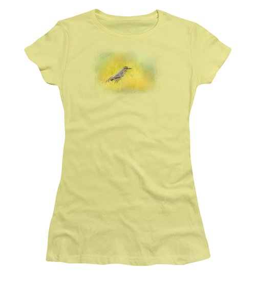 Welcome New Friend Women's T-Shirt (Junior Cut) by Jai Johnson