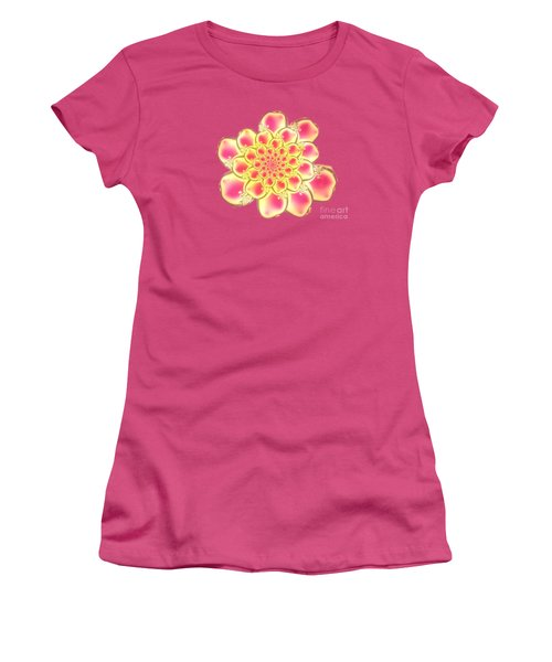 Lotus Women's T-Shirt (Junior Cut) by Anastasiya Malakhova