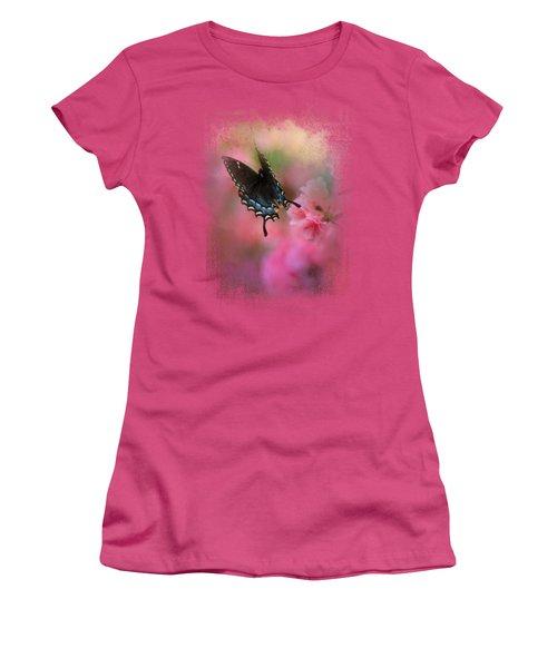 Garden Friend 1 Women's T-Shirt (Junior Cut) by Jai Johnson