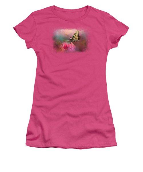 Garden Friend 2 Women's T-Shirt (Junior Cut) by Jai Johnson