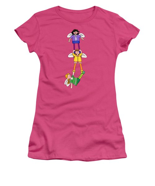 Hang In There Women's T-Shirt (Junior Cut) by Sarah Batalka
