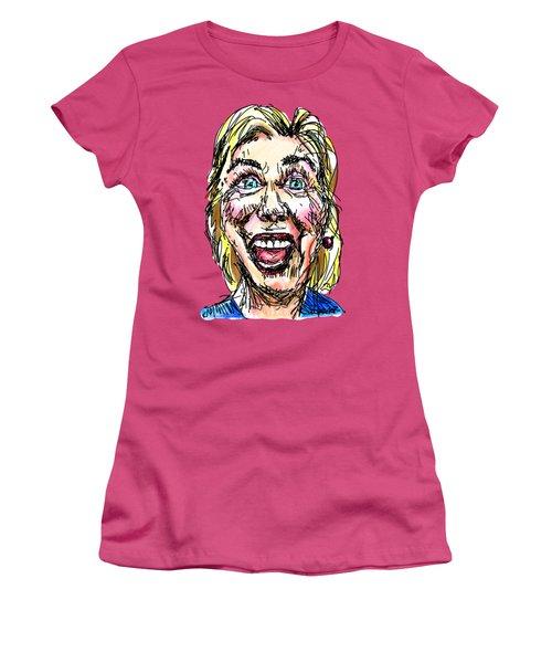 Hillary Women's T-Shirt (Junior Cut) by Robert Yaeger
