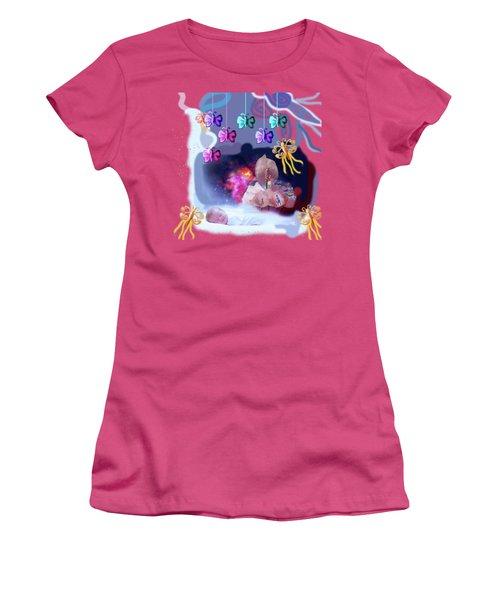 The Real Little Baby Dream Women's T-Shirt (Junior Cut) by Artist Nandika  Dutt