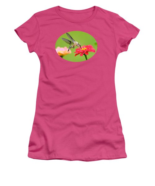 Waiting In The Wings Women's T-Shirt (Junior Cut) by Christina Rollo
