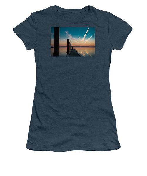 Women's T-Shirt (Junior Cut) featuring the photograph Follow Me by Thierry Bouriat