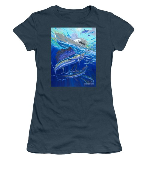 Out Of Sight Women's T-Shirt (Junior Cut) by Carey Chen
