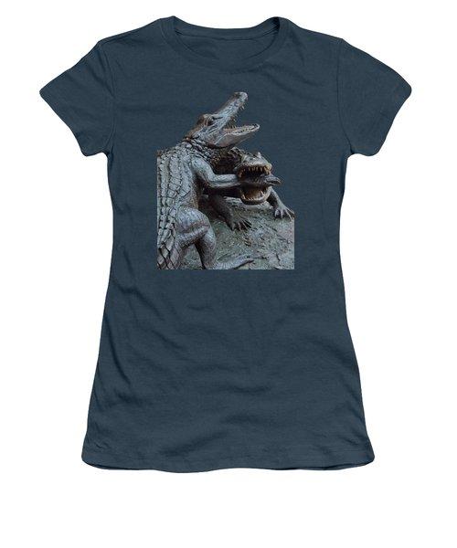 The Chomp Transparent For Customization Women's T-Shirt (Junior Cut) by D Hackett