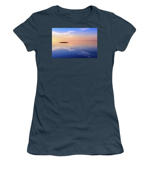 Women's T-Shirt (Junior Cut) featuring the photograph Xtra Blue by Thierry Bouriat